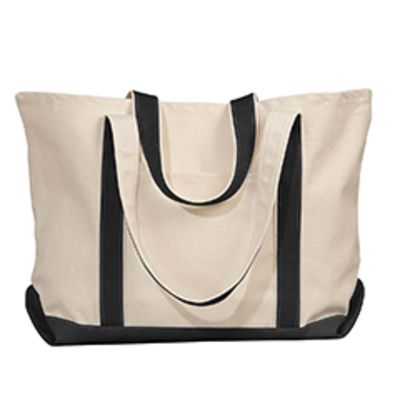 Carmel Classic XL Cotton Canvas Boat Tote Thumbnail