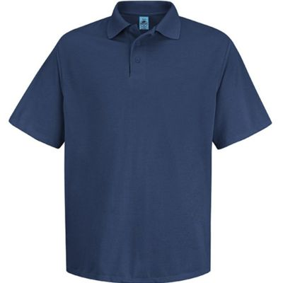 Short Sleeve Spun Polyester Pocketless Polo Thumbnail