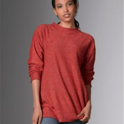Women's Lyla Loop Fleece Mock-Neck Thumbnail