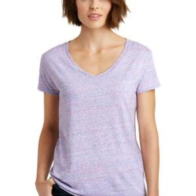 Ladies Cosmic Relaxed V Neck Tee Thumbnail