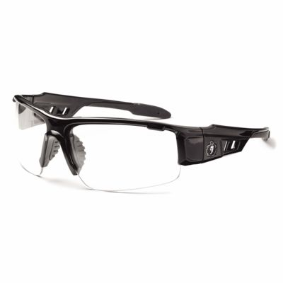 Skullerz® Dagr Safety Glasses Black Frame with Fog-Off Thumbnail