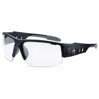 Skullerz® Dagr Safety Glasses Matte Black Frame with Fog-Off Thumbnail