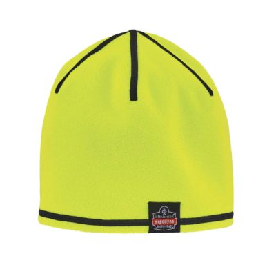 N-Ferno® 6816 Reversible Knit Cap Lime and Gray Thumbnail
