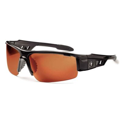 Skullerz® Dagr Safety Glasses Black Frame Polarized Thumbnail