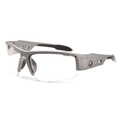 Skullerz® Dagr Safety Glasses Matte Gray Frame with Fog-Off Thumbnail